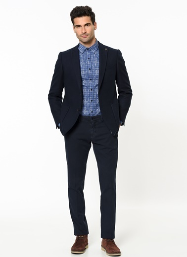 Slim Fit Chino Pantolon-Beymen Business